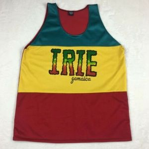 Jamaica Mens Basketball Jersey Size Large L Irie